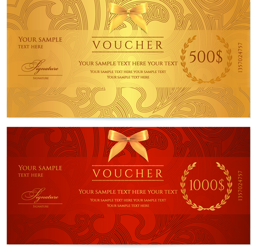 food voucher template – Template for a Voucher