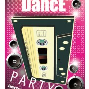 Link toFashion dance party flyer vector material 05
