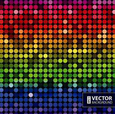 Gloss color mosaic background graphic vector 04 - Vector Background HD Wide Wallpaper for Widescreen