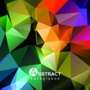 Link toGloss geometric polygonal vector background art 01