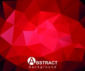 Gloss geometric polygonal vector background art 04