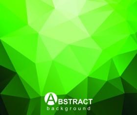 Gloss geometric polygonal vector background art 05