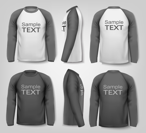 Gray Man TShirt Vector Template  Vector Life Free Download