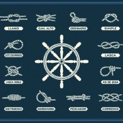 Link toHand drawn nautical elements vector material 05