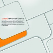 Link toModern cube background vector graphics 01
