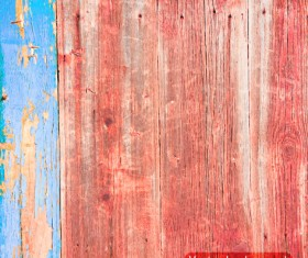 Old wood boards textures vector background set 04