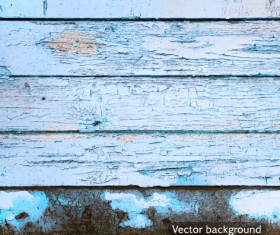 Old wood boards textures vector background set 05