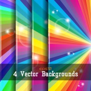 Link toRainbow with halation gloss background vector
