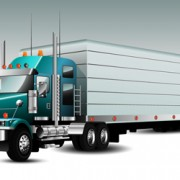 Link toRealistic delivery truck vector design graphics 02