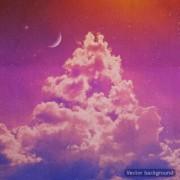 Link toRetro night sky vector background 01