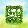 Shiny summer sale background vector 01