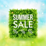 Link toShiny summer sale background vector 01