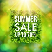 Link toShiny summer sale background vector 02