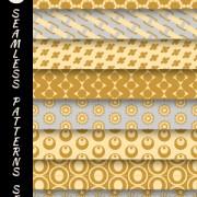 Link toVarious decorative seamless pattern vector set 04