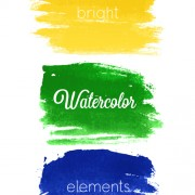 Link toVector banner watercolor design elements 02