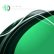 Link toWhite and green background with abstract elements vector