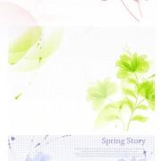 Link toCharm spring flower background art vector 02