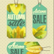 Link toAutumn sale tags design graphics vector 03