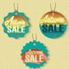 Autumn sale tags design graphics vector 04