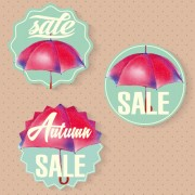 Link toAutumn sale tags design graphics vector 05