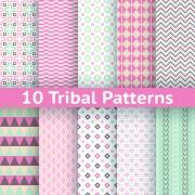 Link toBeautiful decorative pattern seamless vector set 06