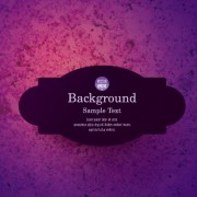 Link toBlack label with background vector 05