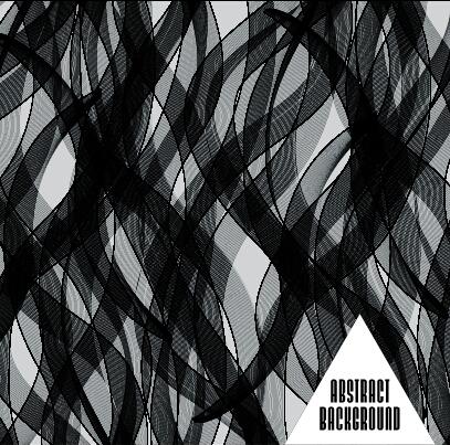 Black muslin vector background art