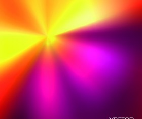 Blurs colored light line vector background 01