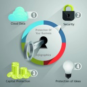 Link toBusiness infographic creative design 2008