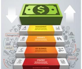 Business Infographic creative design 2046