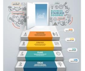 Business Infographic creative design 2047