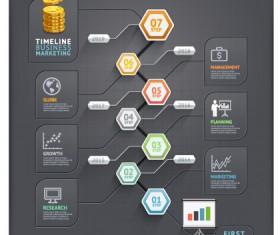 Business Infographic creative design 2050