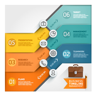 Business Infographic creative design 2052
