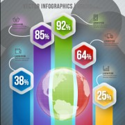 Business infographic creative design 2062