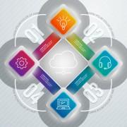 Link toBusiness infographic creative design 2065