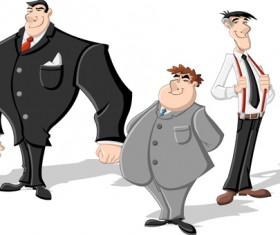 Cartoon heroes vector material