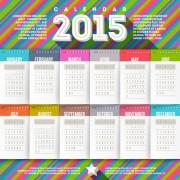 Link toCreative calendar 2015 vector design set 01