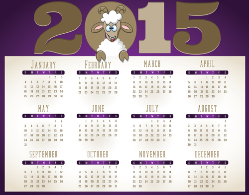 Creative calendar 2015 vector design set 04 over millions creative calendar 2015 vector design set 04 toneelgroepblik