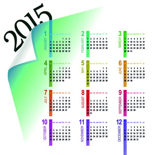 ppt calendar template 2015
