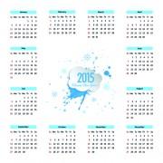 Link toCreative calendar 2015 vector design set 10