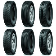 Creative car tires vector design 02