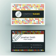 Link toCreative cards business media vector set 05