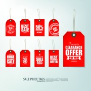Link toCreative sale price tags vector set 01