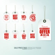 Link toCreative sale price tags vector set 02