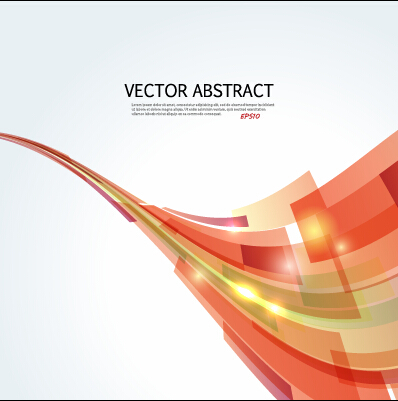dynamic shapes abstract background vector vector