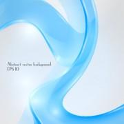 Link toDynamic transparent blue ribbon vector background 09