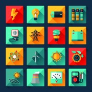 Link toElectricity icons creative vector 02