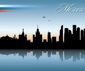 Famous cities silhouette creative vector 03