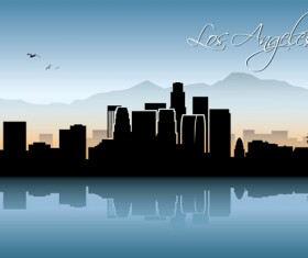 Famous cities silhouette creative vector 06