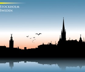 Famous cities silhouette creative vector 09